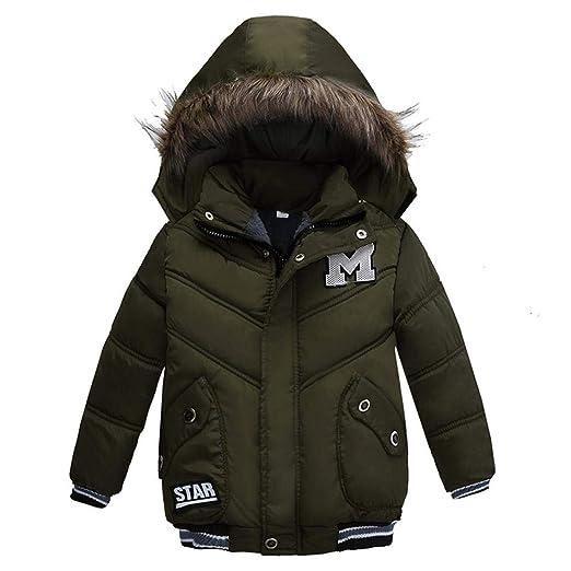 8ed4303e2 Amazon.com: SCSAlgin Fashion Kids Coat Boys Girls Thick Winter Warm ...