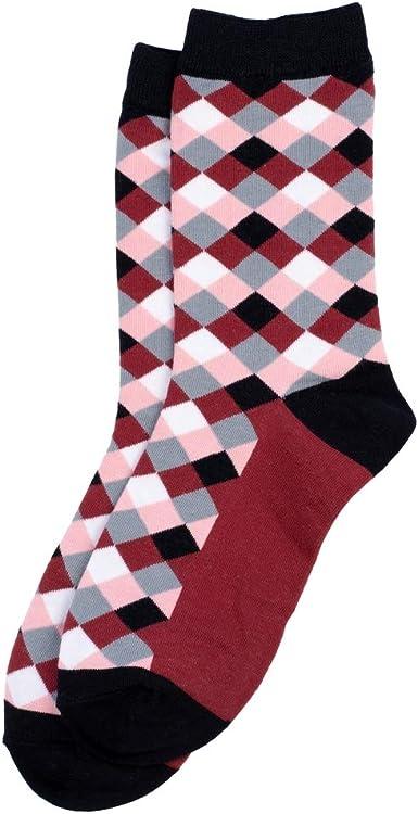Calcetines a cuadros hechos con algodón y elastano por Joe Cool: Amazon.es: Ropa y accesorios