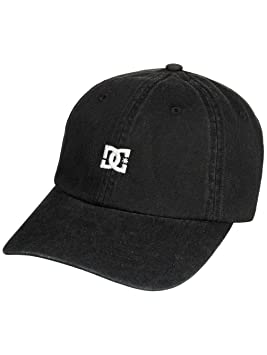 DC Shoes Uncle Fred by Gorra 6 Panel para niño, Negro, FR: Talla Unique (Talla Fabricante: Talla One sizeque)