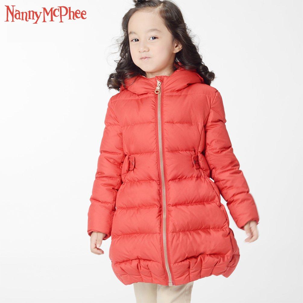 Nanny McPhee Kids Down Coat Baby Girls Warm Long Down Puffer Jacket Outwear Kids Clothing by Nanny McPhee (Image #2)