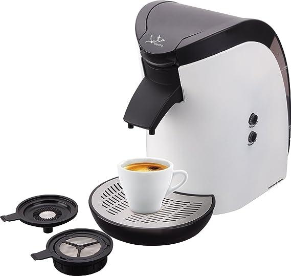 Jata CA569 Cafetera Monodosis de 60 mm Para cafés y infusiones Filtro fácil Accesorios Extraíbles Fácil limpieza Apta Para Todas las Marcas de Café: Amazon.es: Hogar
