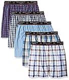 Badger Smith Men's 5 - Pack Cotton Checks