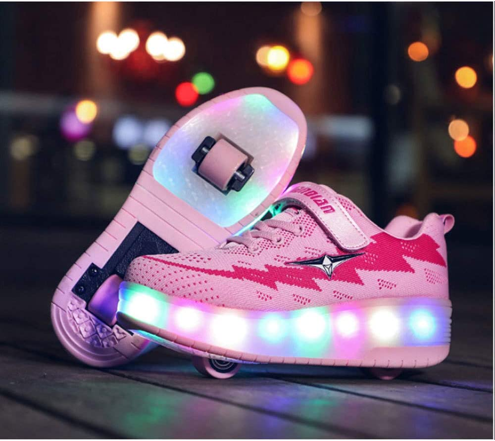 liangh Boys Girls Skate Shoes,Colorful