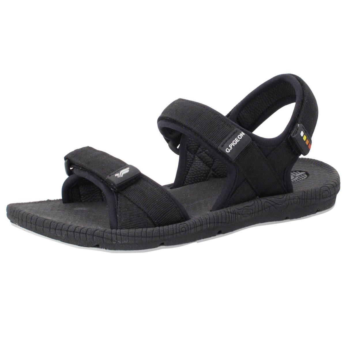 Gold Pigeon Shoes GP5931 Light Sling Weight Adjustable Outdoor Water Sling Light Back Sandals for Men & Women B078M8YNJL EU41: Women 10/10.5 & Men 8.5/9 (272.6mm)|8658 Black With Snap Lock (Prime Free Shipping) 712450