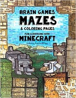 Amazon com: Brain Games, Mazes & Coloring Pages