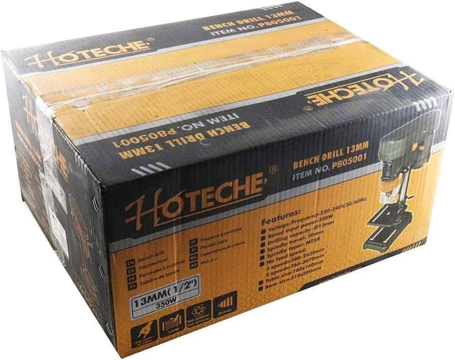 Hoteche 028145 Perceuse colonne 13 mm