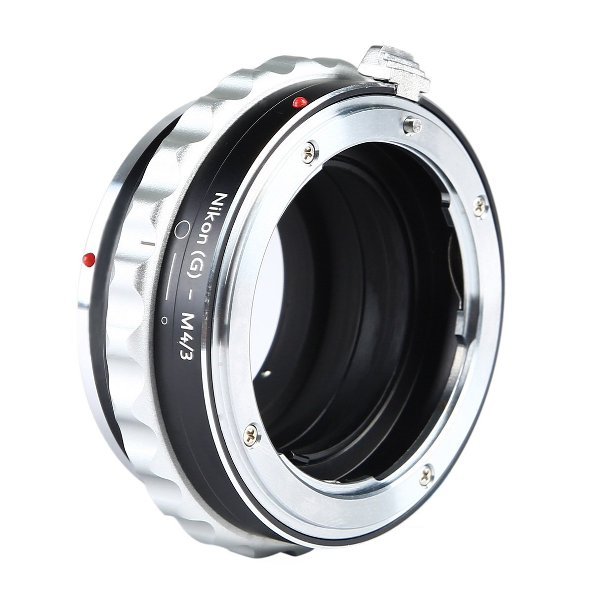 Adapter to Convert Nikon F-Mount Lens to MFT Lens for Mirrorless Micro Four Thirds M4//3 Digital Camera D and G Type Lens