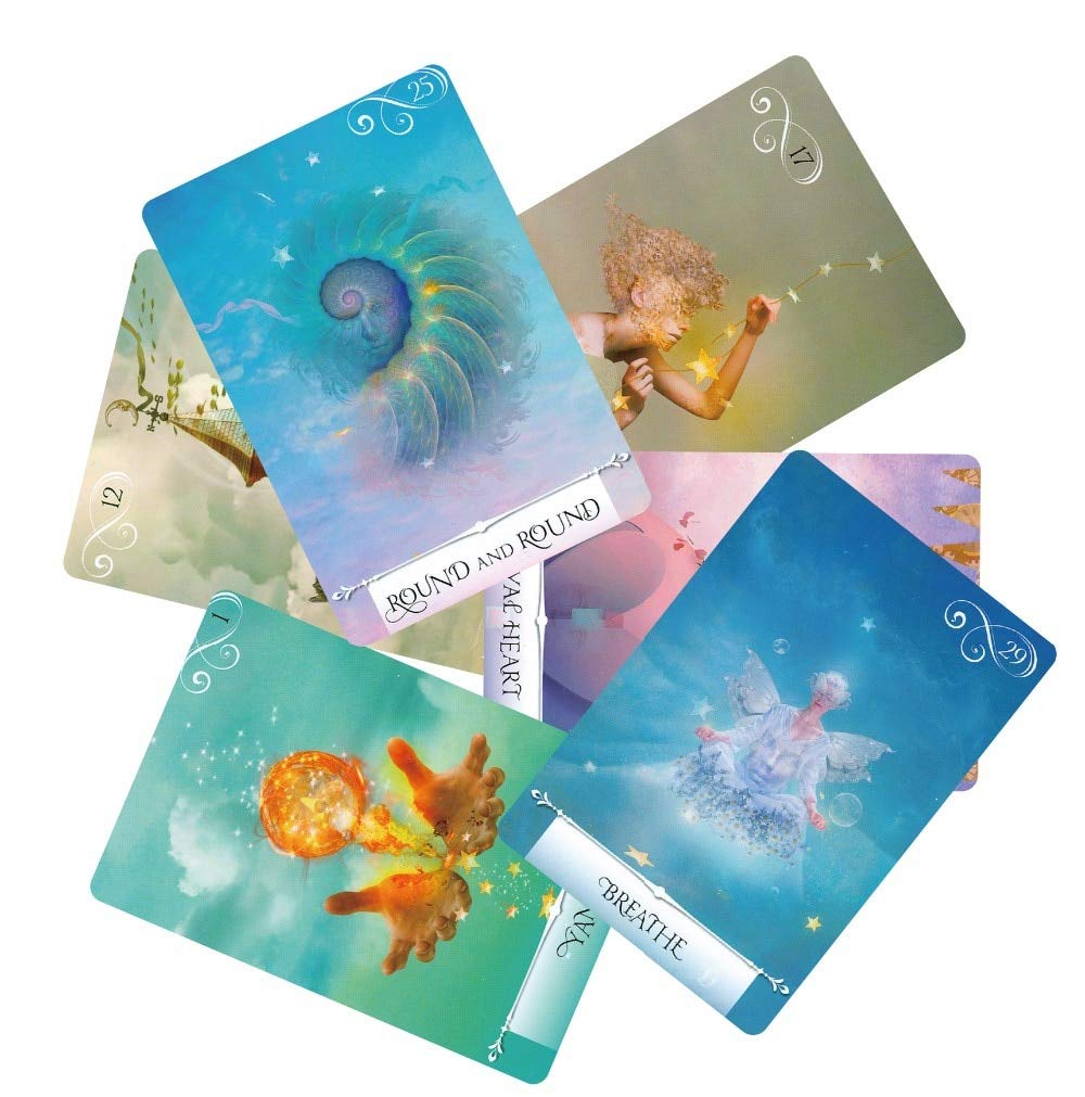 Autumn Water Newest Knowledge Oracle Cards 52 Wisdom Tarot Cards Guidance English Mysterious Fortune Card Game for Girls by Autumn Water (Image #4)