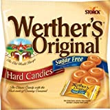 Werther's, Caramel Sugar Free Hard Candy, Original, 2.75 Ounce (Pack of 4) by Werther's