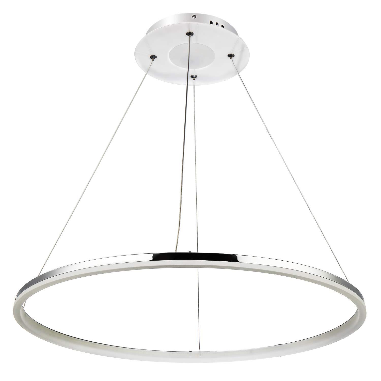 Lightinthebox pendant light modern design living led ringhome ceiling light fixture flush mount pendant light chandeliers lighting voltage110 120v