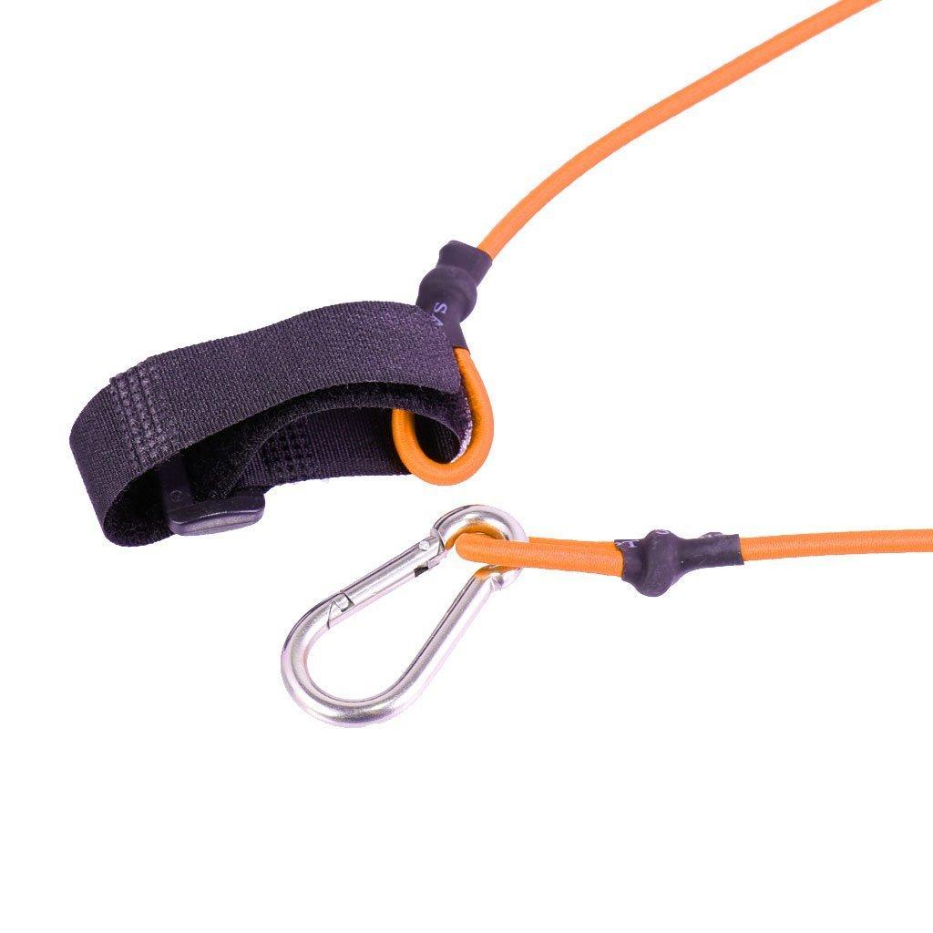 Yundxi El/ástica Remo/-/Cuerda de Remo de Seguridad Kayak Piragua Remo bichero Cuerda Cuerda con mosquet/ón y Soporte Correa de Mano