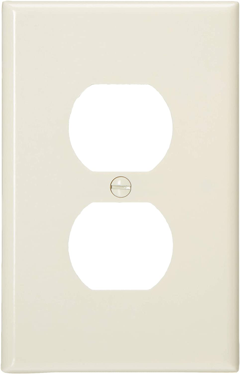 Brown Midway Size Device Mount Thermoset Leviton 80503 1 Gang Duplex Device Receptacle Wallplate Tools Home Improvement Outlet Plates