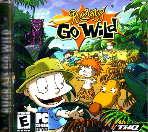 Rugrats Go Wild Games (Rugrats Go Wild (Jewel Case) - PC)