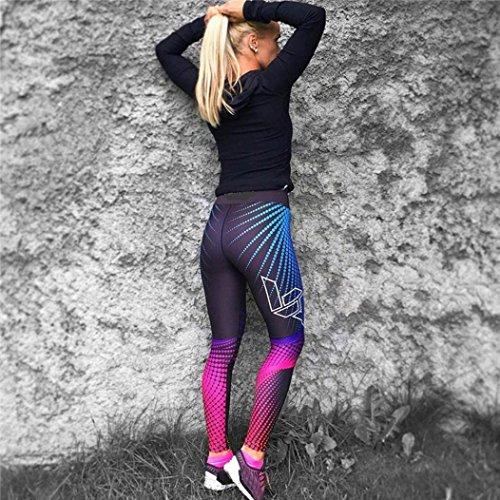 Femme Yoga Sport Fitness Pour Legging Mamum Pantalon Noir L qxgwnn