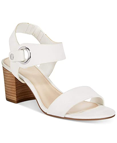 296a7ff7c3c Image Unavailable. Image not available for. Color  Bar III Birdie City Two-Piece  Block-Heel Sandals ...