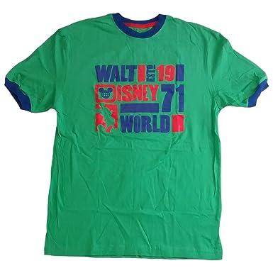 1cd3253967a3 Amazon.com  Disney Walt World Ringer Tee Adult Shirt - Green  Clothing