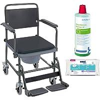 Invacare H720T–Silla inodoro, Higiene Juego Incluye Desinfectante Limpiador