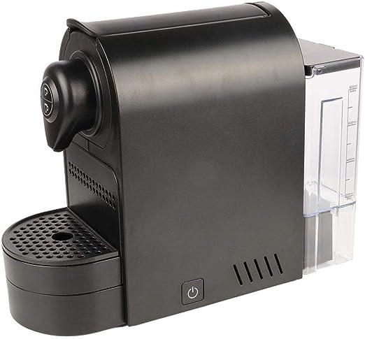 Máquina de café en cápsulas, cafetera de café en cápsulas negra ...