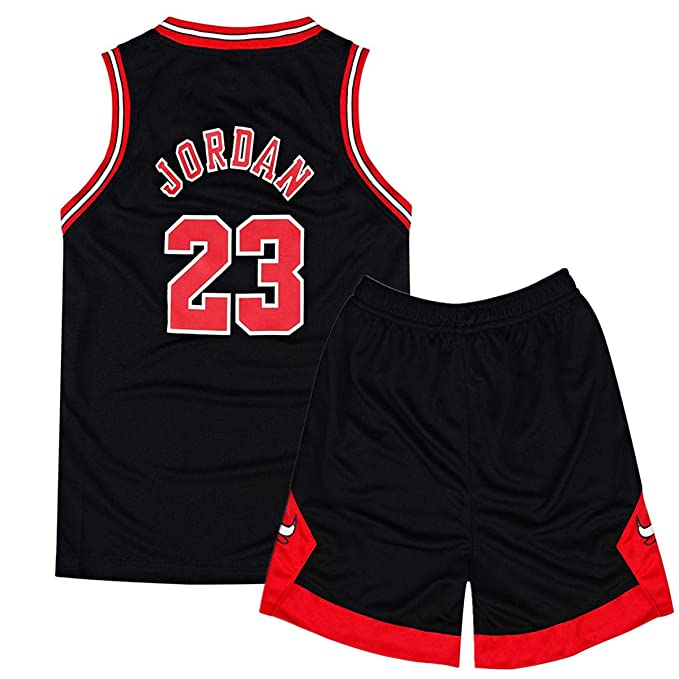Niño Michael Jordan#23 Retro Pantalones Cortos de Baloncesto ...