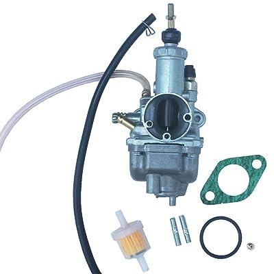 KIPA Carburetor for Yamaha Grizzly 125 YFM125 YFM125G YFM125GH 2004-2013 with Mounting Gasket Fuel Filter OEM # 5VJ-14101-20-00: Home & Kitchen