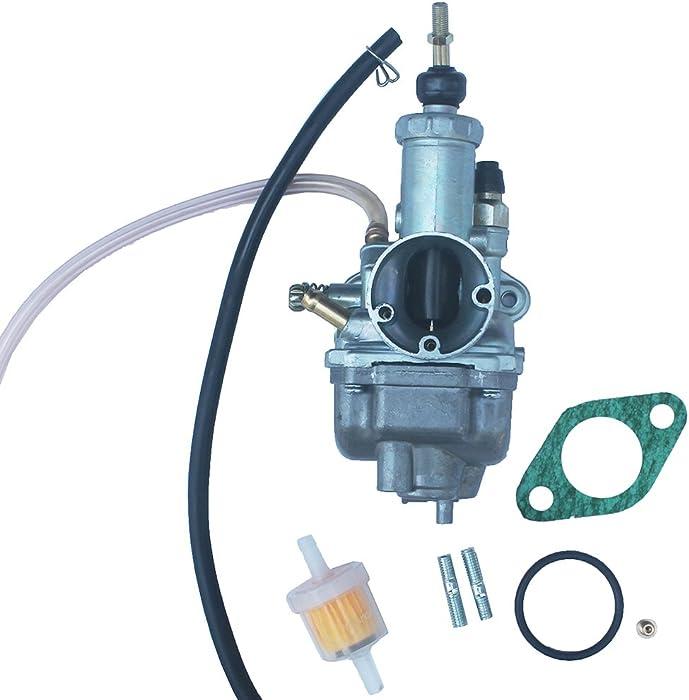 KIPA Carburetor For YAMAHA Moto 4 225 YFM225 YFM 225 ATV 1986-1988 With Mounting Gasket Fuel Filter OEM # 59V-14101-00-00