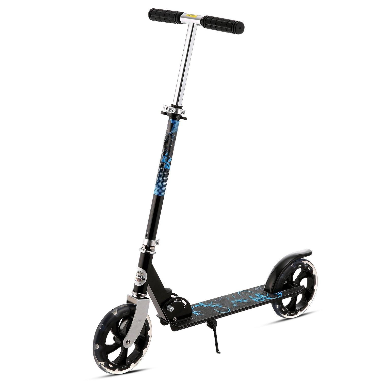 begorey Patinete Big Wheel para adultos adolescente plegable ...