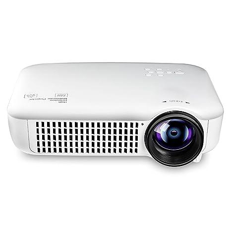 Proyector de vídeo wifi hd LED, LCD proyector portátil 3500 lumens ...