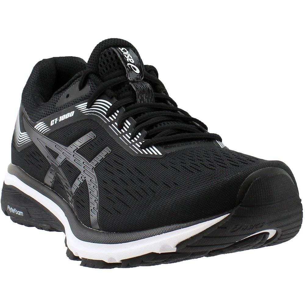 ASICS 1011A042 Men's GT-1000 7 Running Shoe Black/White