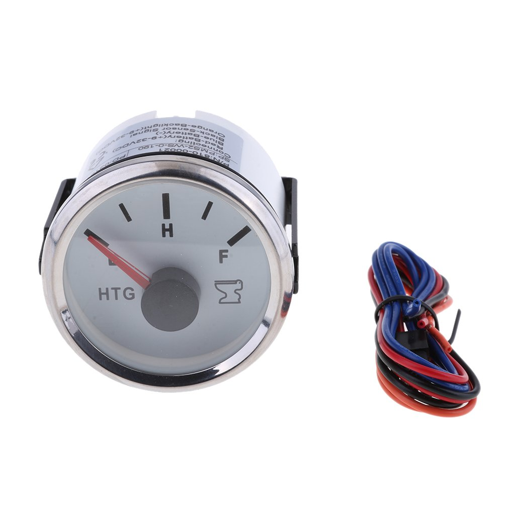 MagiDeal 2'' 52mm Boat Holding Tank Waste Level Gauge Low to Full Pointer 810-00021 non-brand