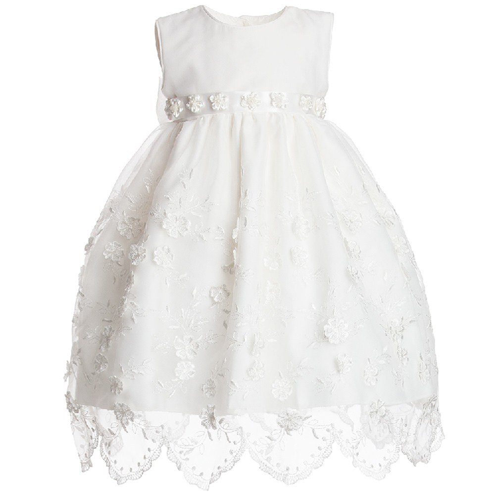 Fenghuavip Lace Baby-Girls Christening Dresses With Jacket