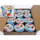 Yoplait 100 Calorie Peach Greek Yogurt, 5.3 Ounce - 12 per case.