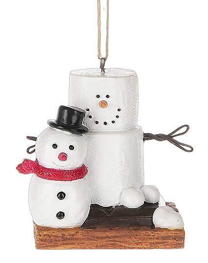 Original S'mores Smore Man with Fresh Made Snowman Christmas Tree Ornament - Amazon.com: Original S'mores Smore Man With Fresh Made Snowman