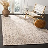 Cheap Safavieh Abstract Collection ABT468D Contemporary Handmade Gold and Blue Premium Wool Area Rug (4′ x 6′)