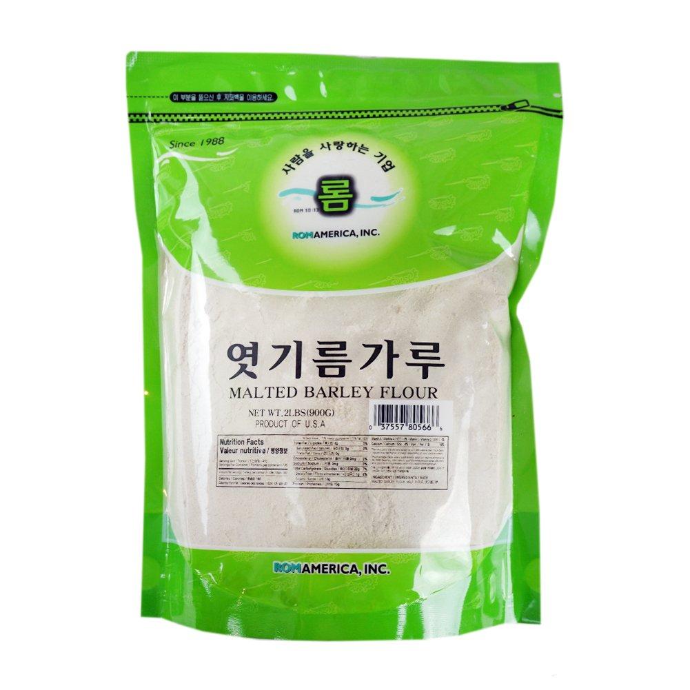 ROM AMERICA [ 2lb ] Malted Barley Flour Malt Powder Diastatic 엿기름 가루