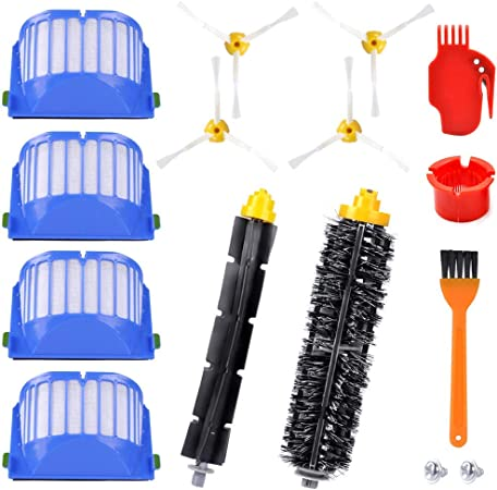 KEEPOW 12 Pcs Kit de Accesorios de Repuesto para iRobot Roomba Serie 600 605 610 615 616 620 625 630 631 632 639 650 651 660 670 680 681: Amazon.es: Hogar