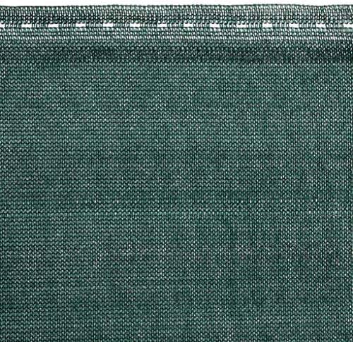 Schattiergewebe 90g//m? Schattierwert 80/% HOLZBRINK Zaunblende Sichtschutz H/öhe 200cm HZB-01C-200-5 PP-Seil inkl L/änge 5lfm Dunkelgr/ün