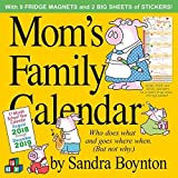Mom's Family Wall Calendar 2019 [12' x 12' Inches]
