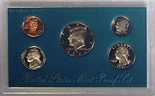 1994 US Proof Set in Original Government Packaging