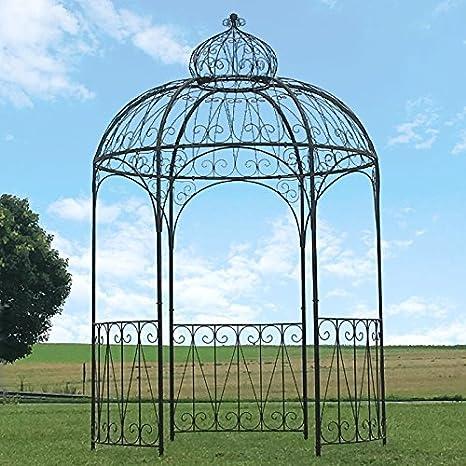 Chemin de Campagne - Pérgola de hierro para jardín (diámetro 200 cm)