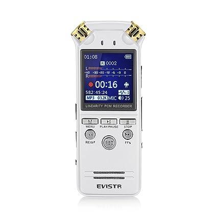 Registratore Microfono Registrazione Evistr Riproduzione