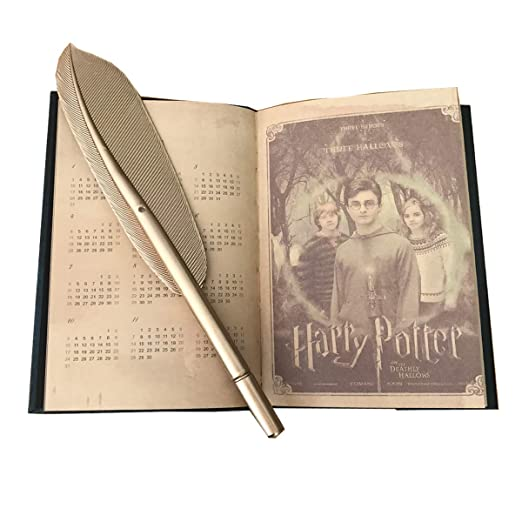 Amazon.com : 2019 Harry Potter Diary Planner and Feather ...