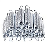 AW 20pcs 5.3'' Inch Galvanized Steel Trampoline Springs Galvanized Replacement Set