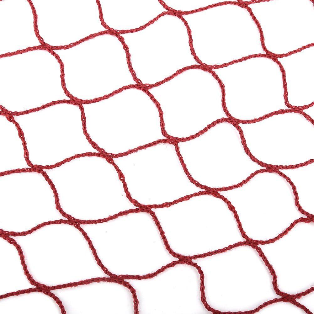 Fishlor Red de b/ádminton 2 Colores Port/átil Deportes Red de b/ádminton Red de Malla Duradera de b/ádminton para Entrenamiento de Entretenimiento Deportivo al Aire Libre