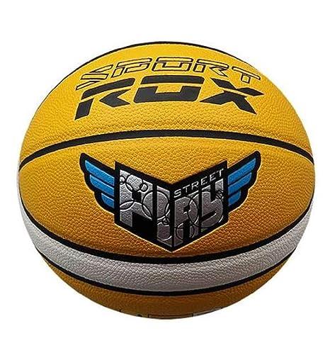 Rox BALÓN Baloncesto Cuero R-Play Talla 7: Amazon.es: Deportes y ...