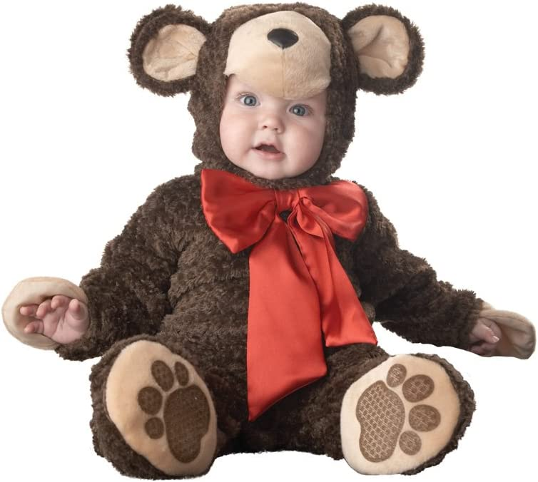 Incharacter Disfraces IC6012-S Elite Lil Teddy Bear Infant Toddler ...
