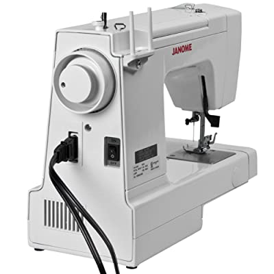 Janome HD1000 Heavy-Duty Sewing Machine with 14 Built-In Stitches review