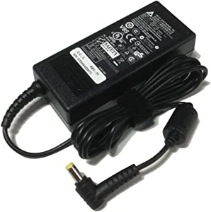 Laptop Charger for Acer Aspire (Yellow Tip) E15 A315 V3 A515 F15 V3 R3 E1 E3 ES1 A114 ES1-512 ES1-432 ES1-531 ES1-533 V5 V7 E5-573 E1-532 E1-731 F5 19V 3.42A 65W AC Adapter Power Supply Cable Cord
