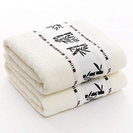 Toalla de baño, Toalla de Fibra de bambú Suave 420 g, 3 Colores para