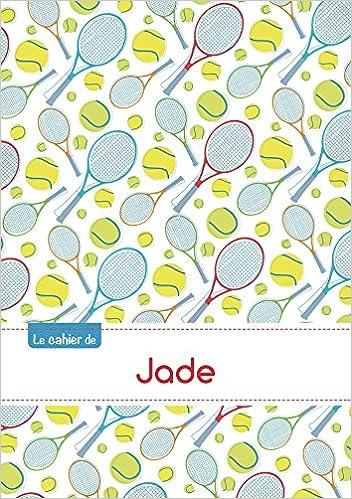 Livre gratuits Le cahier de Jade - Petits carreaux, 96p, A5 - Tennis pdf ebook