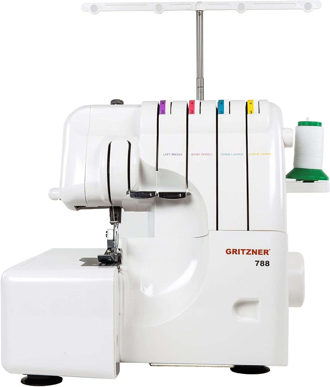 Gritzner Overlock 788 - Máquina de coser: Amazon.es: Hogar